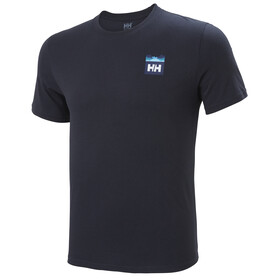 Helly Hansen Nord Graphic HH Camiseta Hombre, navy
